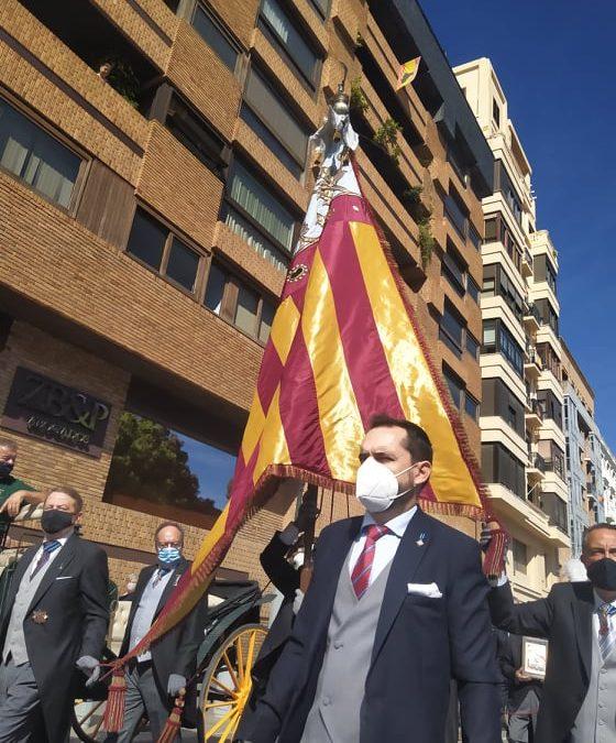 La Processó Cívica del 9 d'Octubre se celebra gràcies al Centenar de la Ploma