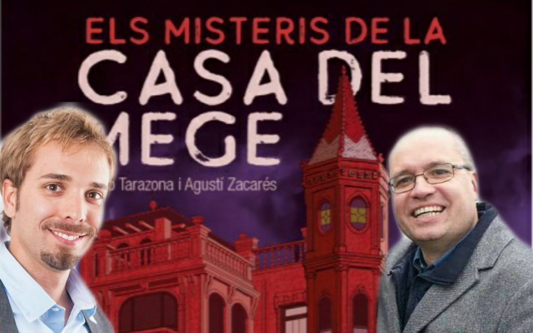 Escriuen una novela ambientada en la Casa del Mege de l'Avinguda del Port