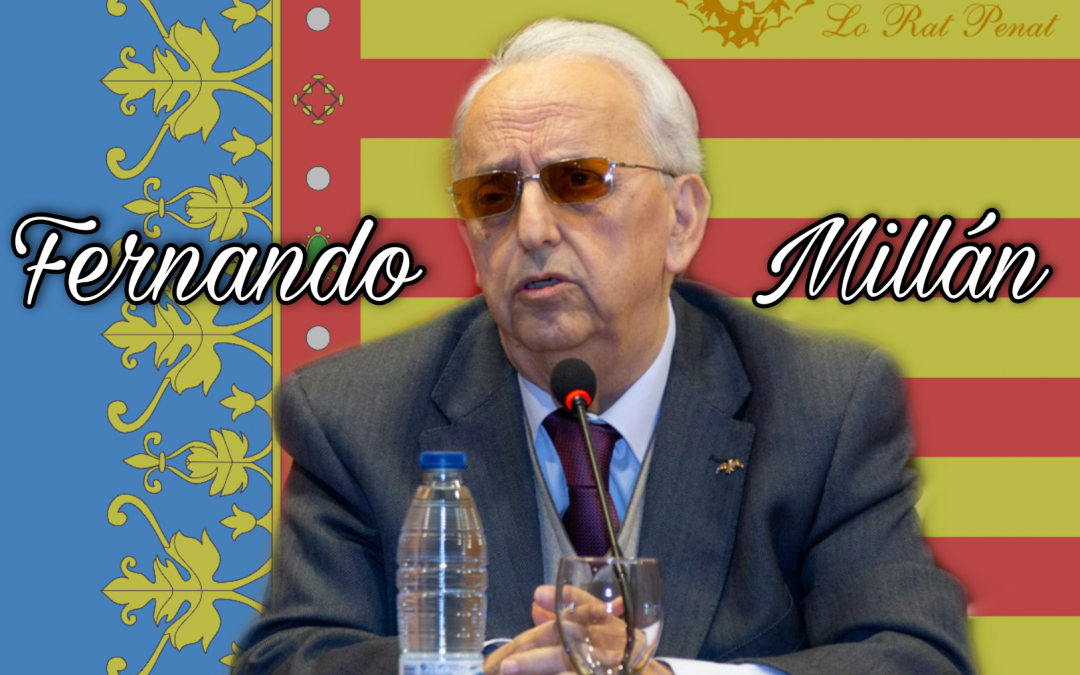 Fernando Millán presenta l'Aula d'Història de Lo Rat Penat