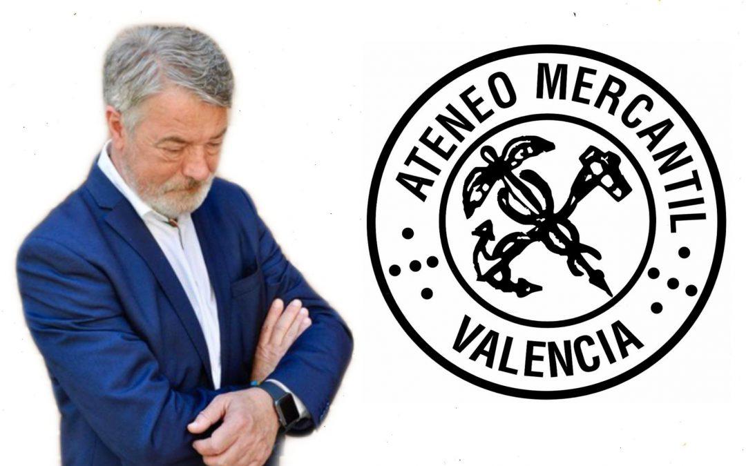 Este dimecres Joan Ignaci Culla presentarà el seu llibre 'Valencià, desperta' en l'Ateneu Mercantil de Valéncia