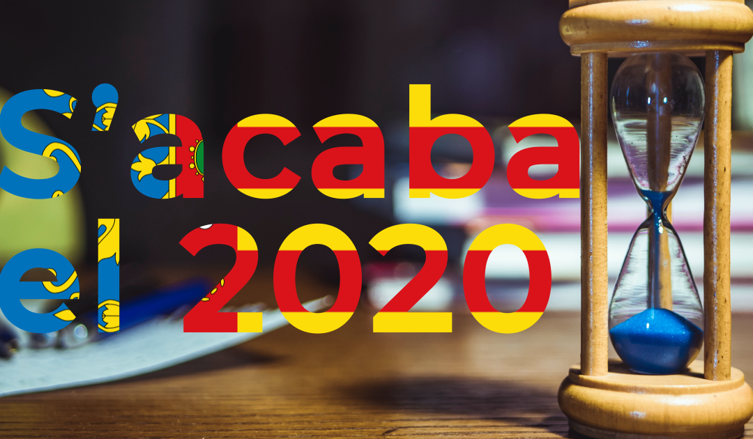 Acaba el 2020: la tendència del valencianisme es manté