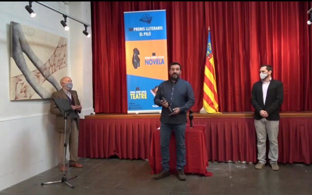 Màxim Rueda i Josep Escuder guanyadors del Premi de Novela Federic Feases