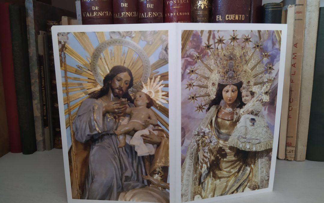 Lo Rat Penat edita un díptic com a Ofrena a la Mare de Deu i a Sant Josep en est any de pandèmia