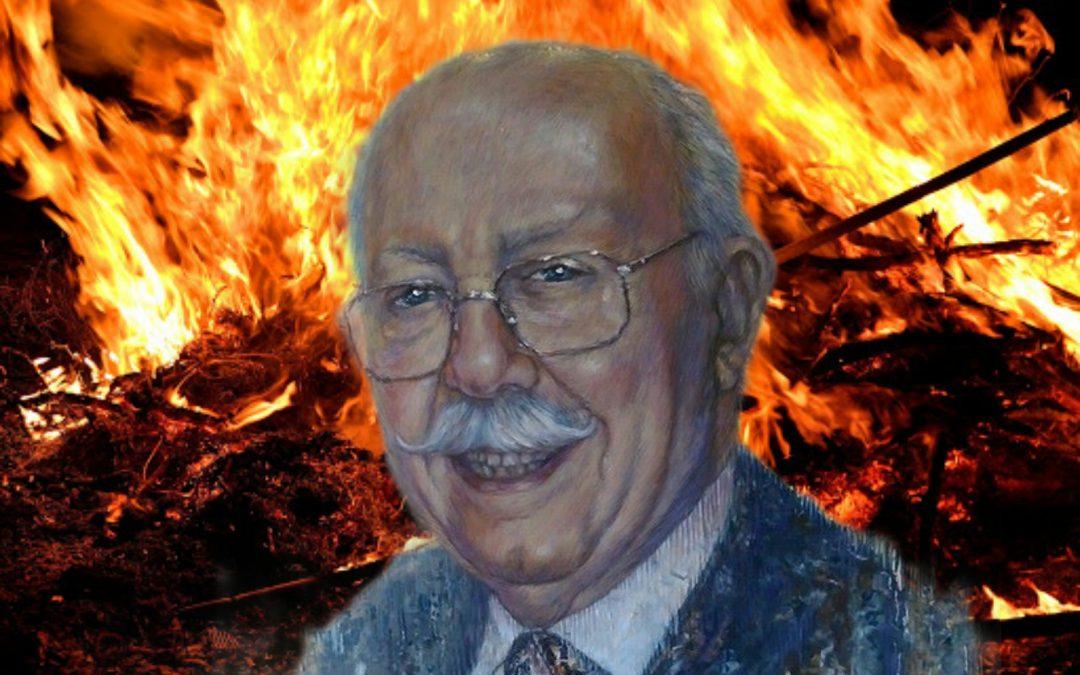 Com una flama per Anfós Ramon García