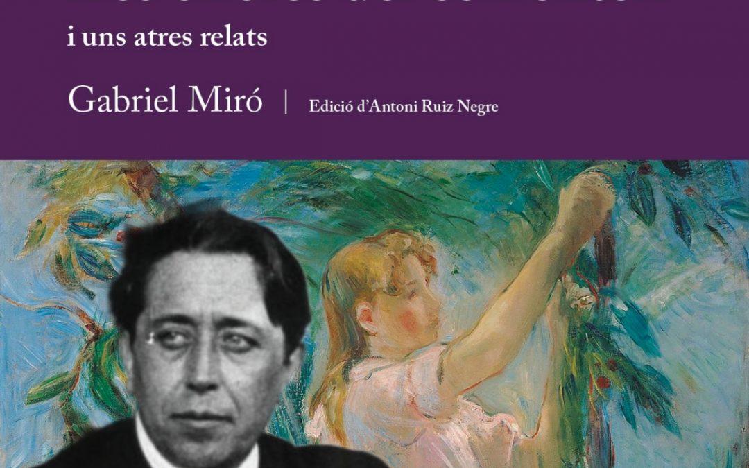 Gabriel Miró, per primera volta, en valencià