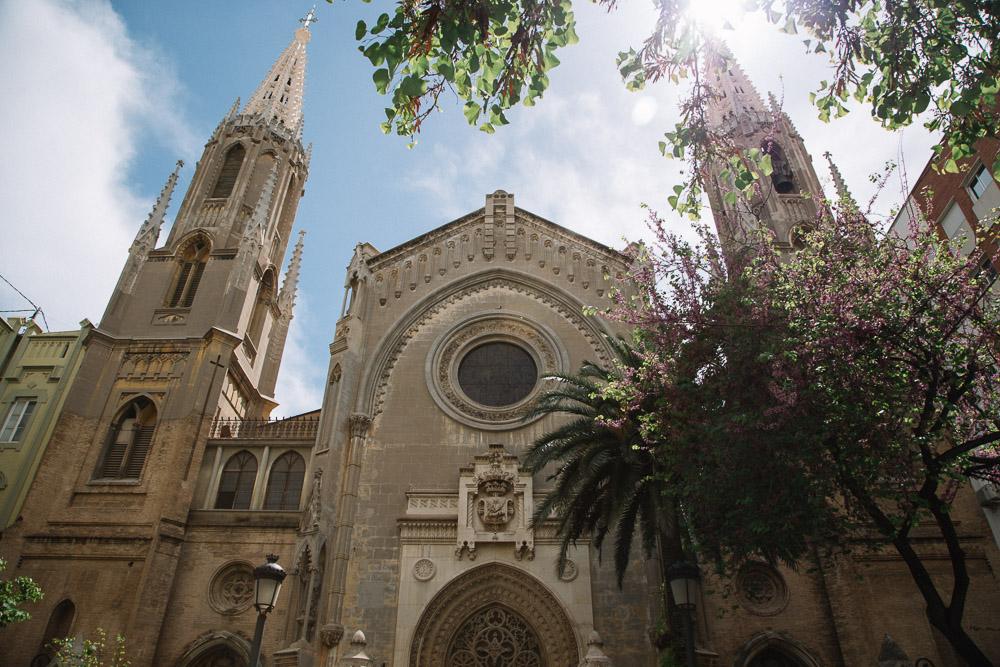 La Basilica de Sant Vicent Ferrer en Valencia ciutat