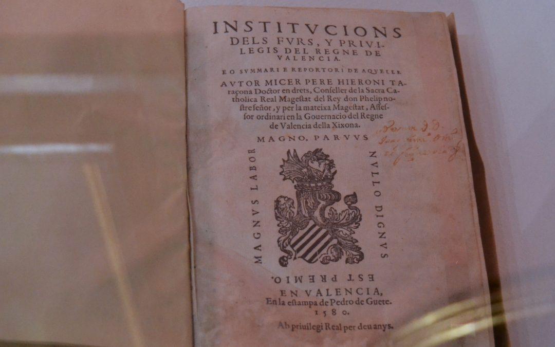 Jornada sobre el «Dret Civil Valencià i societat» en la RACV