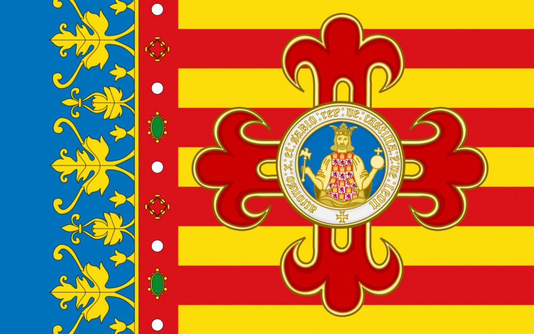 La Real Senyera i la «Corbata de la Orden de Alfonso X el Sabio»