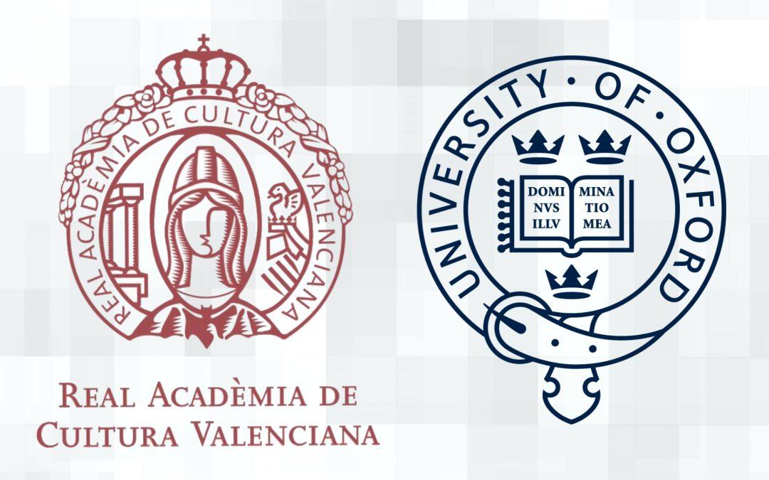 La RACV envia una carta a l'Universitat d'Oxford aclarint l'entitat de la llengua valenciana