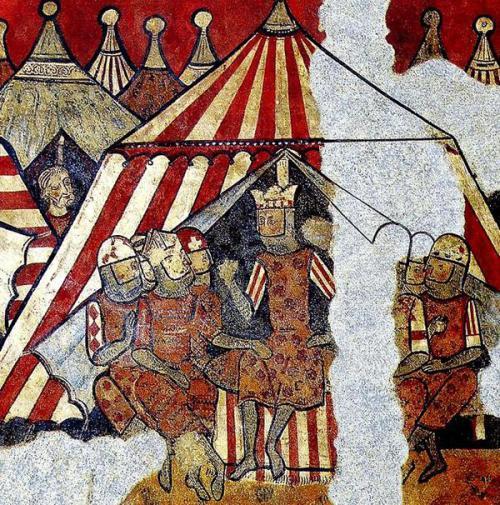 Aixina era el campament de Jaume I en Russafa